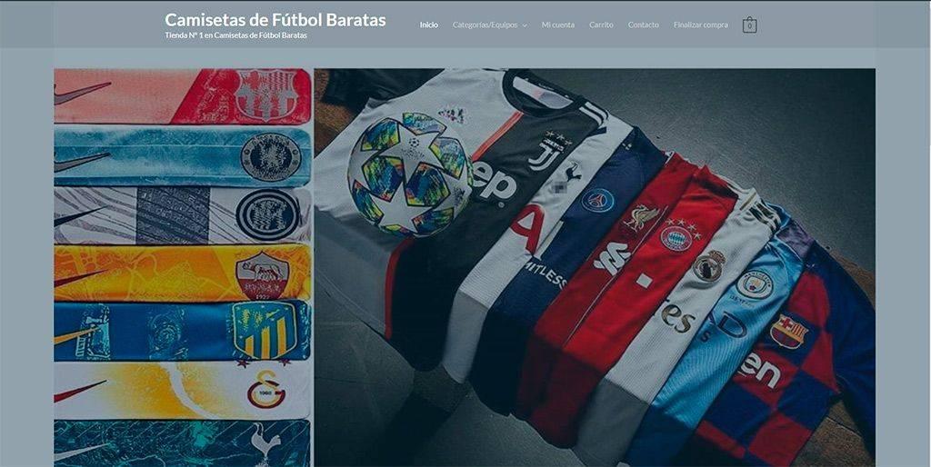 Camisetasdefutbolbaratas.shop Tienda Online Falsa Camisetas Futbol