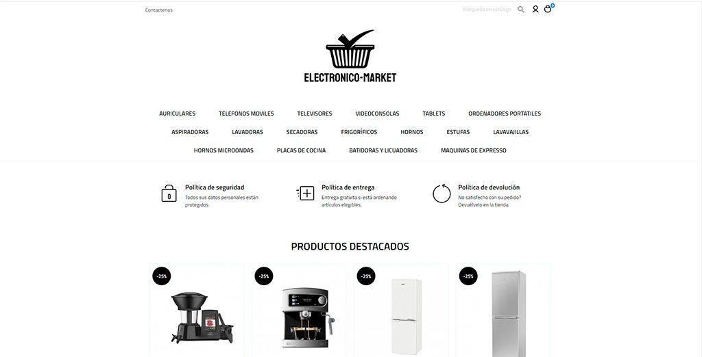 Electronico Market.com Tienda Online Falsa Tecnologia