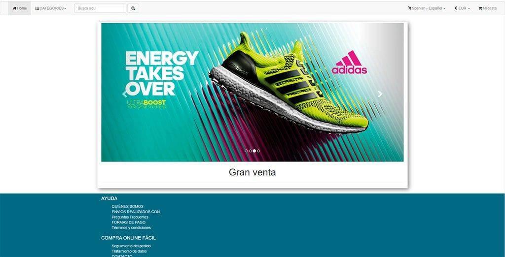 Esrebajas2020.com Tienda Online Falsa Moda Zapatillas