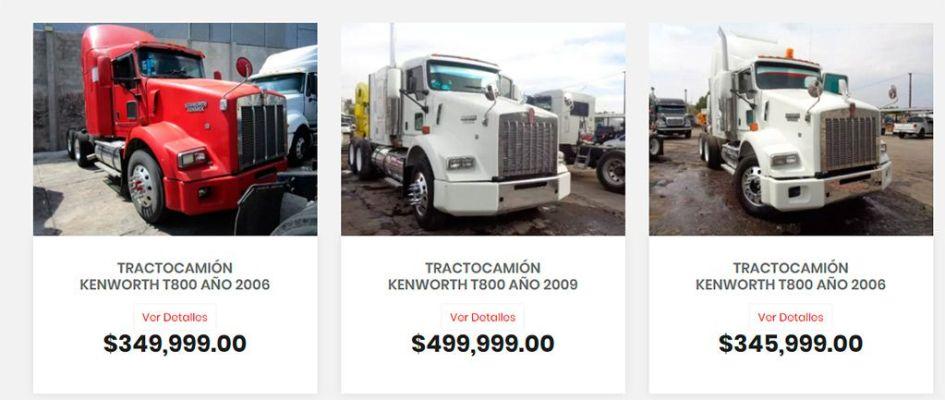 Kenworth-Seminuevos.com Fake Online Shop Selling Trucks Kenworth