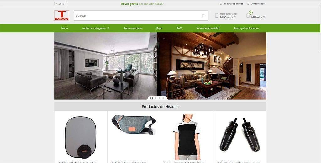 Taxulgoods.com Tienda Online Falsa Multiproducto