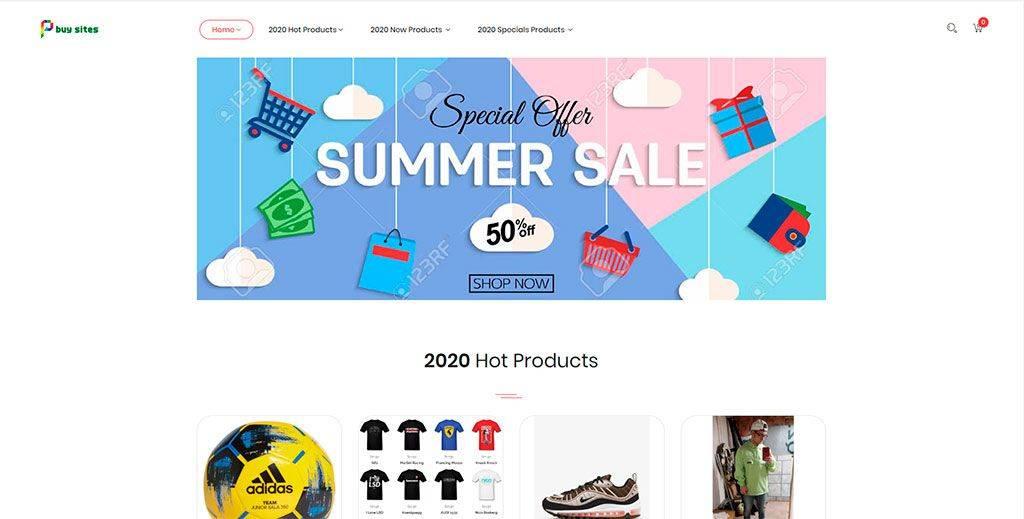 Buysites.xyz Tienda Online Falsa Articulos Deportivos