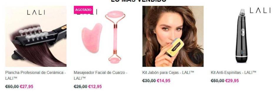 Lali Beauty.com Tienda Online Falsa