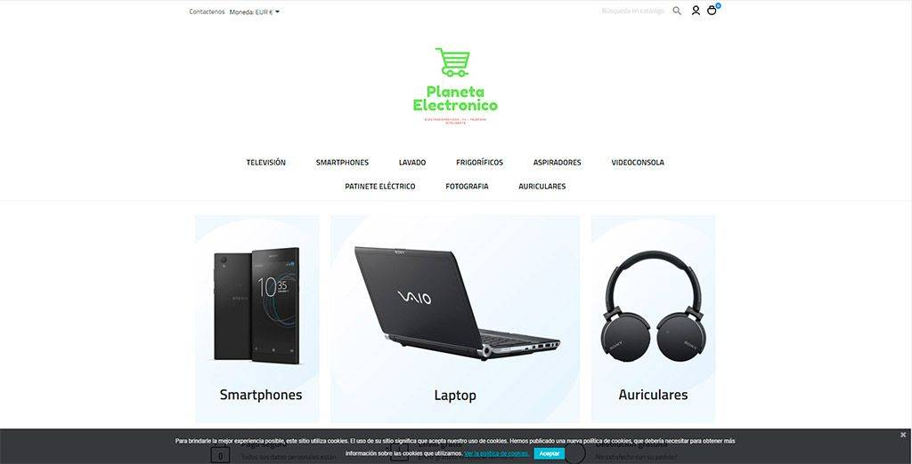 Planeta Electronico.es Tienda Online Falsa Electronica