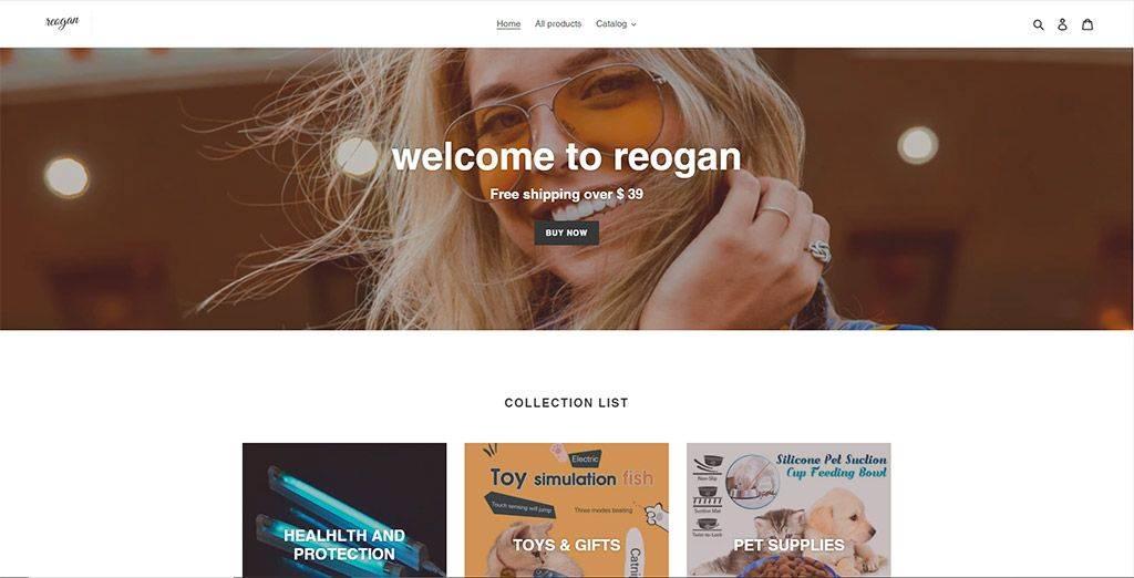 Shop.reogan.com Tienda Online Falsa Multiproducto