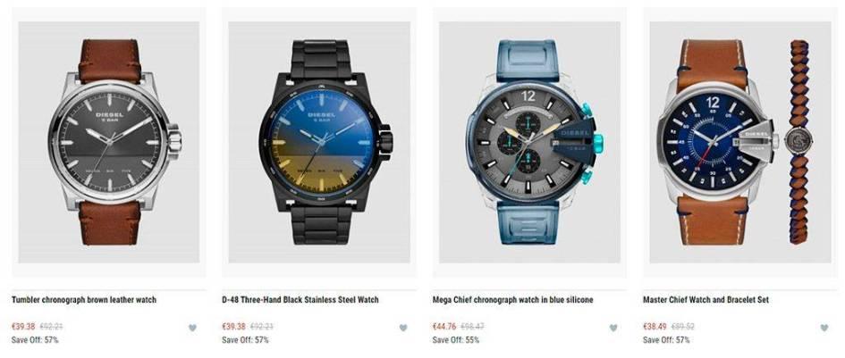 yue-me.com Tienda Online Falsa Relojes Diesel