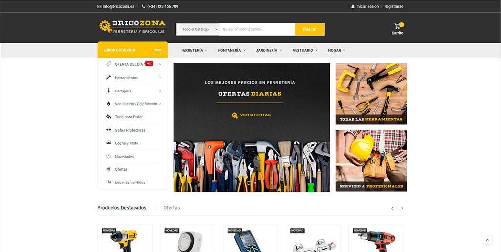 Bricozona.es Tienda Online Falsa Bricolaje