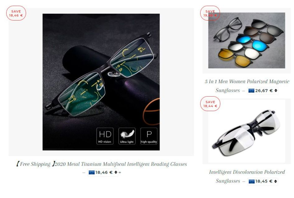 Cloudsofwhite.net Fake Online Shop For Smart Glasses