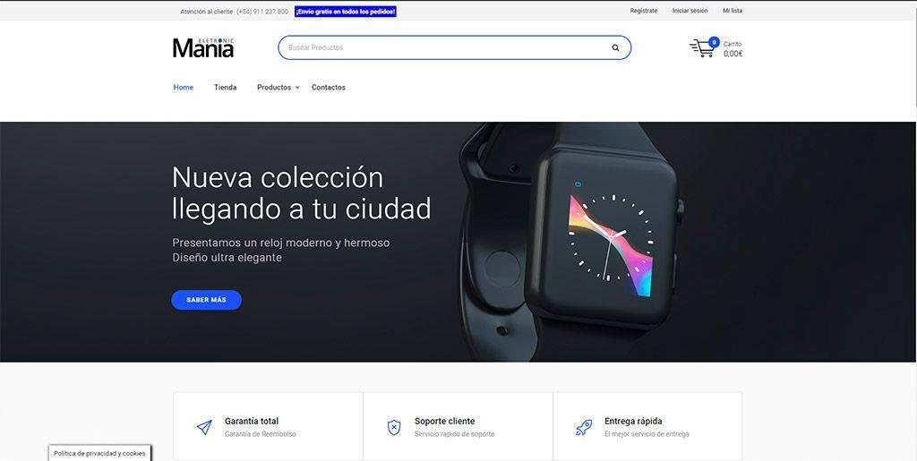 Eletronicmania.es Tienda Online Falsa Electronica