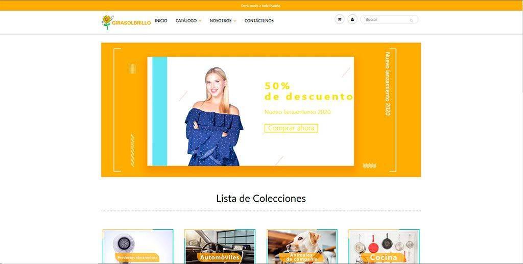 Girasolbrillo.com Tienda Online Falsa Multiproducto