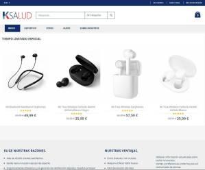 Ksalud.com Tienda Online Falsa Productos Electronicos