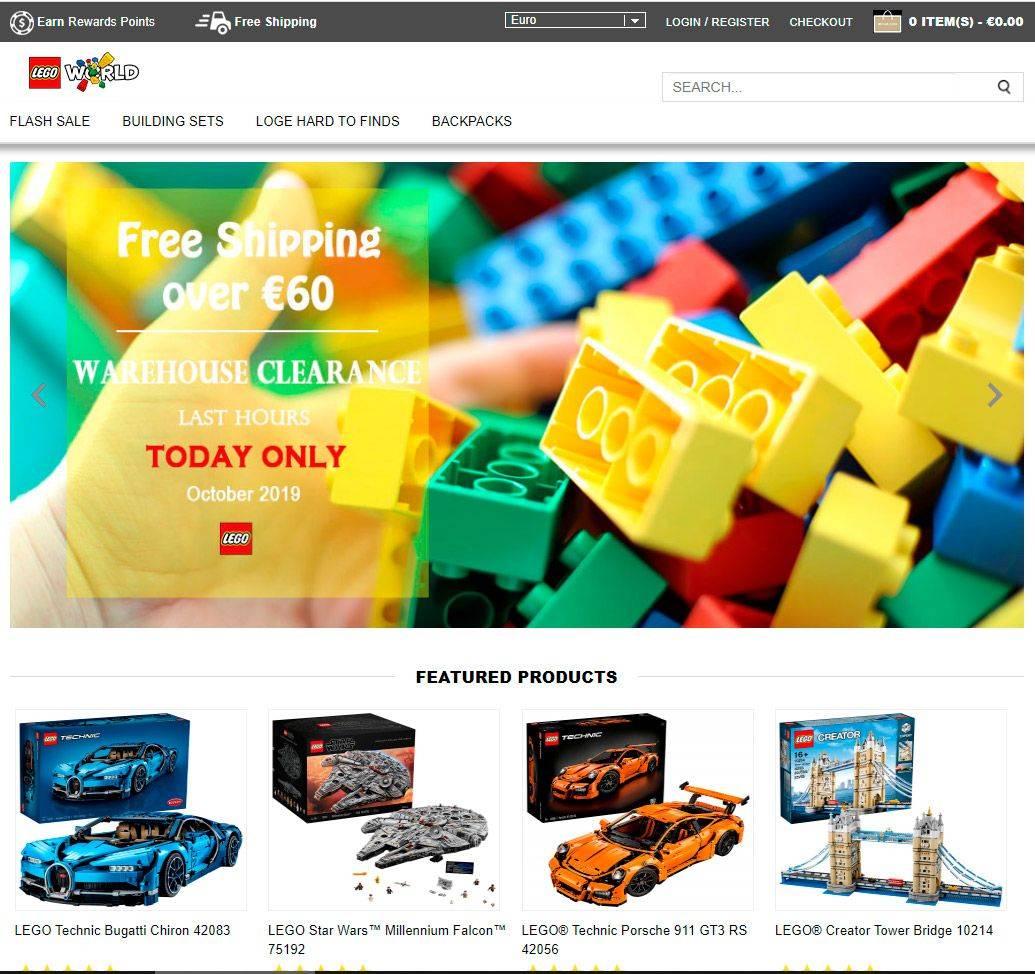 Lgcheap.com Tienfa Online Falsa Lego