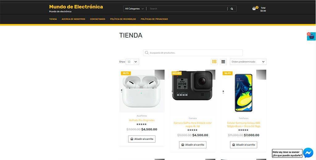 Mundodeelectronica.com Tienda Online Falsa Electronica