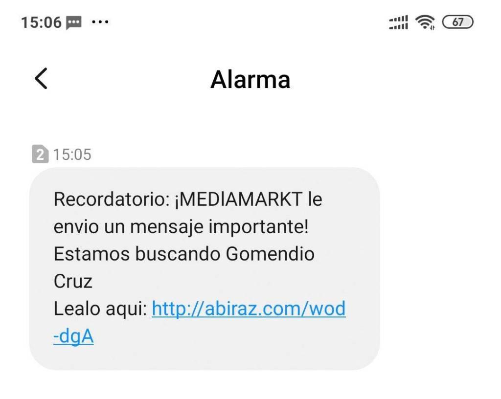 Phishing Mediamarket