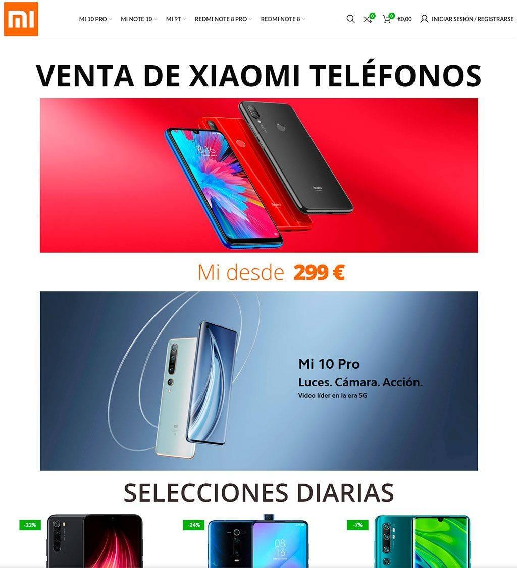 telefono-top.store Tienda Online Falsa Smartphones Xiaomi