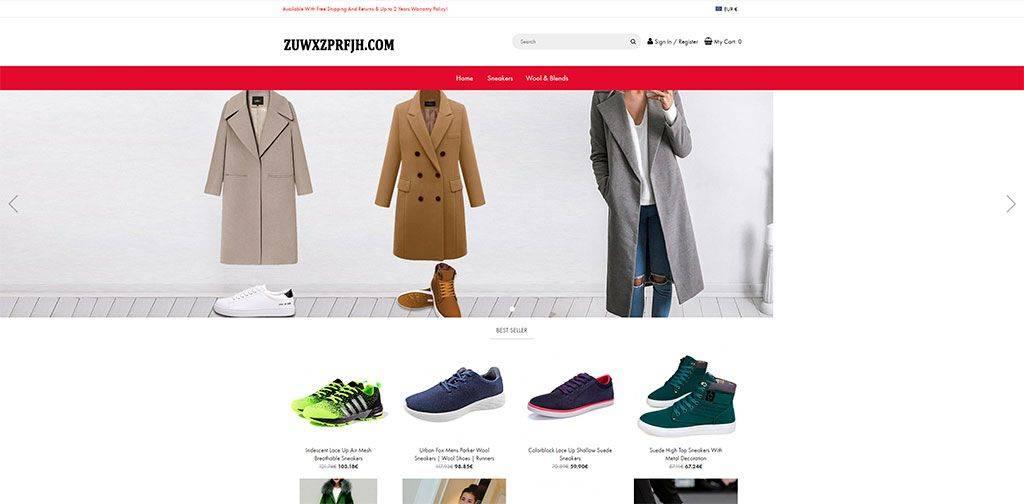 Zuwxzprfjh.com Tienda Online Falsa Moda