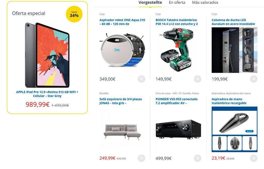 Electronica Shop.com Tienda Online Falsa