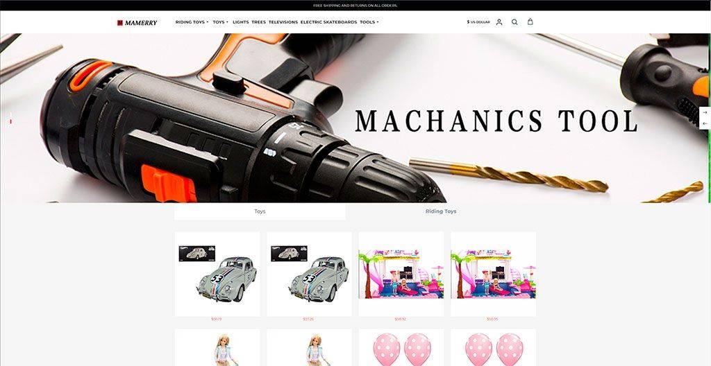 Mamerry.com Tienda Online Falsa Multiproducto