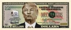 Bildergebnis für donald trump dollar