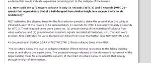 FAQs   NIST WTC Towers Investigation