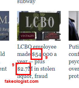 frauds with 9 and 11 in them fakeologistcom