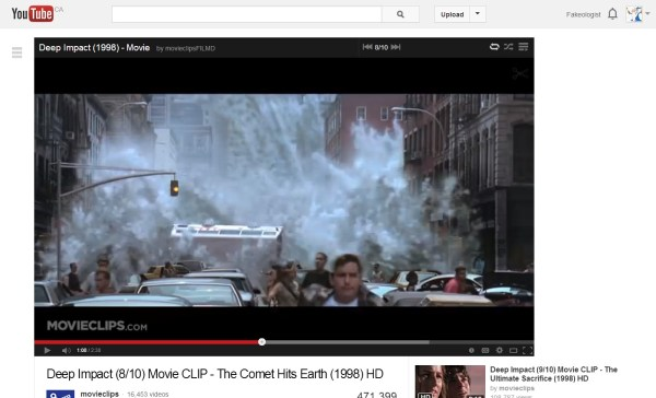 Deep Impact  8 10  Movie CLIP   The Comet Hits Earth  1998  HD   YouTube
