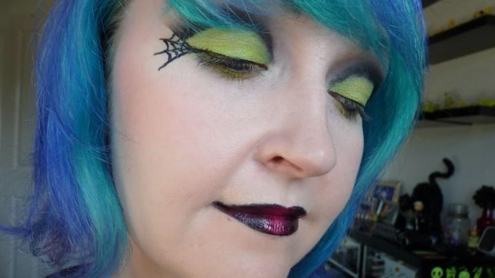 Halloween Evil Web Eye Shadow Tutorial