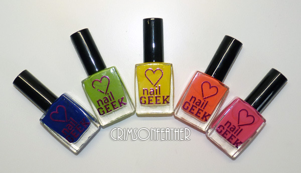 Nail Geek Nail Paints Review & Swatches