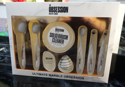 MakeUp London Obsession Marble Brush Set