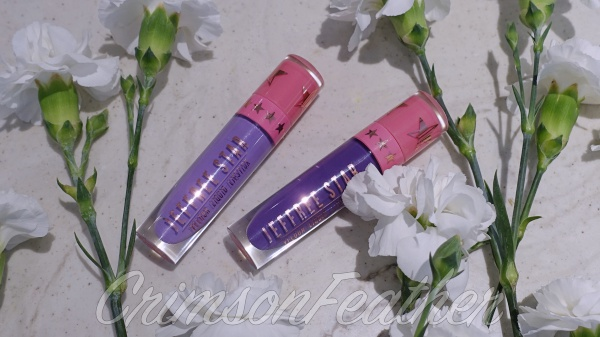 Jeffree Star Velour Lipstick in Blow Pony and I'm Royalty Review & Swatch