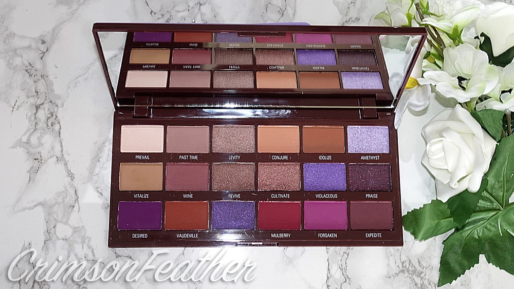 I Heart Revolution Violet Chocolate Palette Review & Swatches