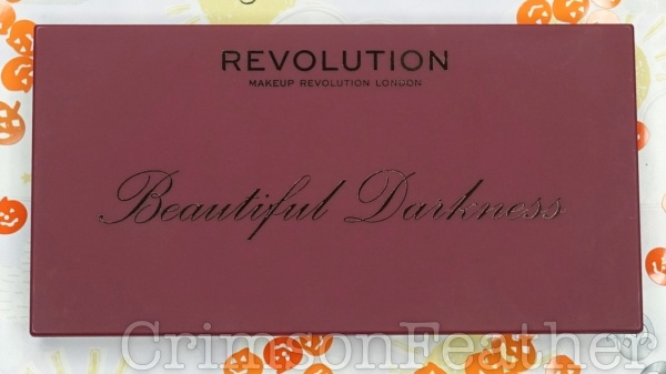 Revolution Beauty Halloween - Beautiful Darkness Palette Review & Swatches
