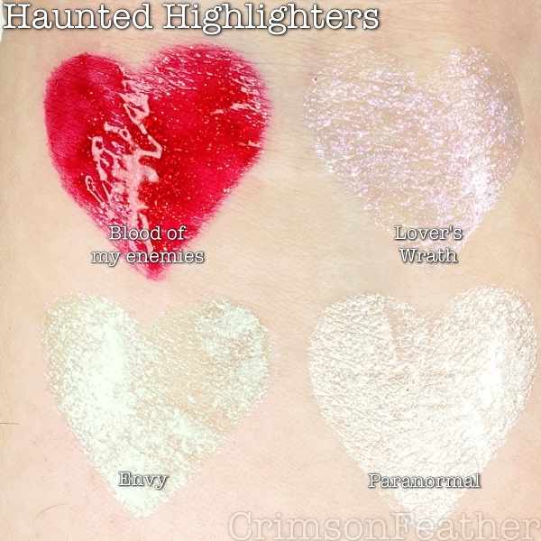 Revolution-Halloween-Liquid-Highlighters-Skull-Swatches
