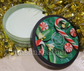 Body Shop Peppermint Candy Cane Range Review Fake On The Outside