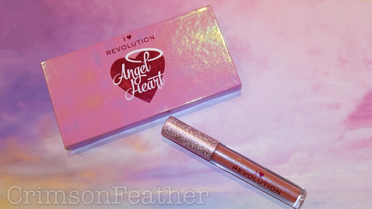 I Heart Revolution Angel Heart Palette & Lipgloss - Swatches and Review