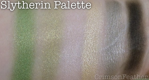Harry-Potter-Wizarding-World-Slytherin-Palette-Swatches