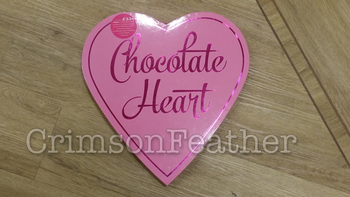 I Heart Revolution Chocolate Heart Gift Set - MakeUp Palettes Review & Swatches - Peanut Butter Cup & Red Velvet