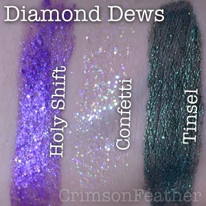 Lime-Crime-Holy-Shift-Confetti-Tinsel-Diamond-Dew-Swatches
