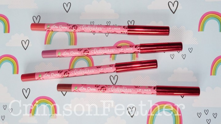Lime Crime Velvetines Lip Liners Review & Swatches – Minx, Petunia, Poison​ & Poppy