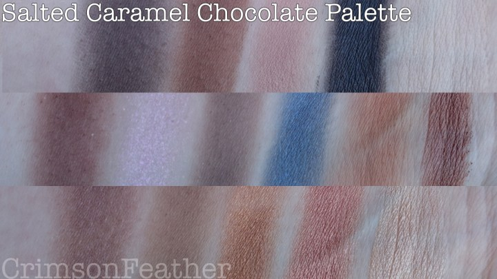 I-Heart-Revolution-Salted-Caramel-Chocolate- Palette-Swatch