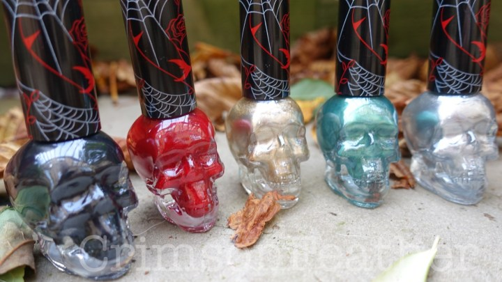 Revolution-Halloween-Skull-Nail-Polish-Bloodthirsty-Horror-Show-Goblin-King-Monster-Poltergeist-2