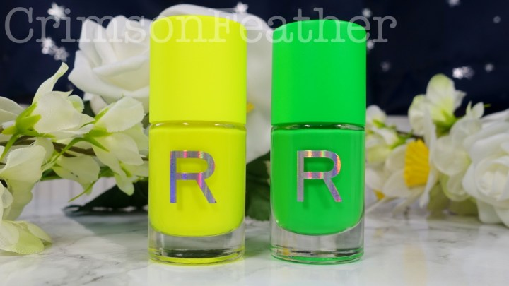 Revolution Neon Nail Polish – Zesty and Zaptastic – Review and Swatch