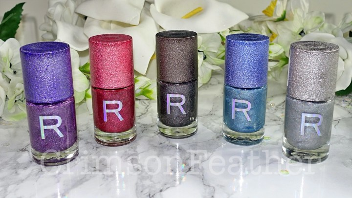 Revolution Nails Holographic Polish – Aura, Galactic, Luna, Spectrum & Supernova – Review & Swatches