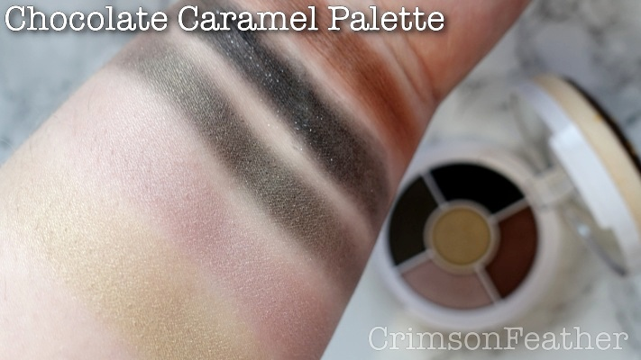 I-Heart-Revolution-Chocolate-Caramel-Donut-Palette-Swatches