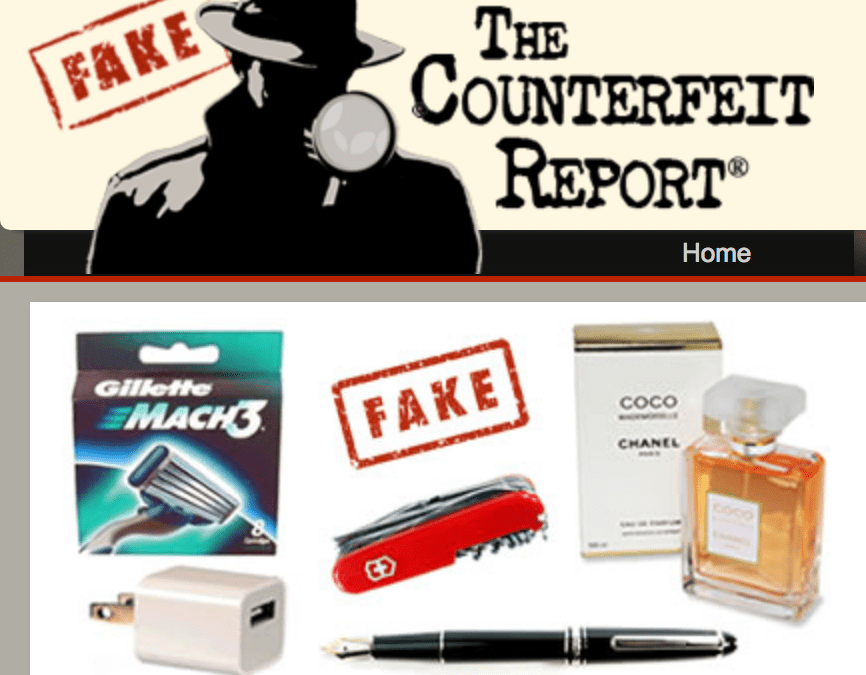 The Counterfeit Report website keeps a great list of counterfeit beauty products to be on the lookout for.