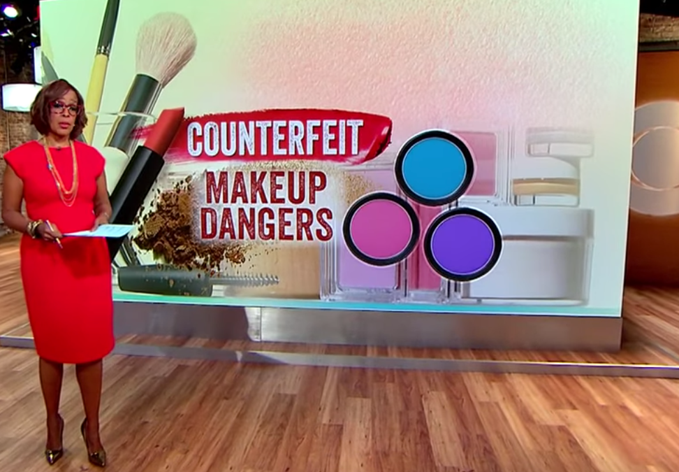 How counterfeit makeup could be a health hazard