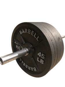 Fake 45lb Weights