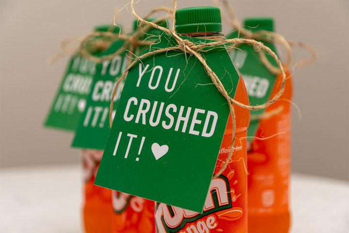 'You Crushed It' Gift Tutorial with Free Printable Tags