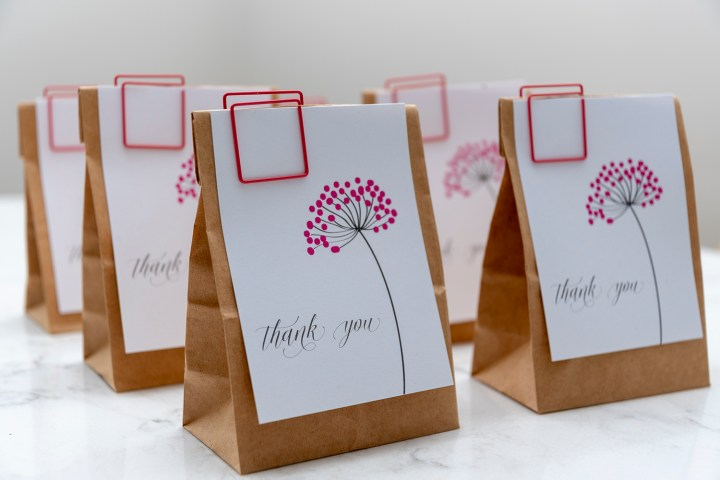 Sweet Dandelion Thank You Tags with Free Printable