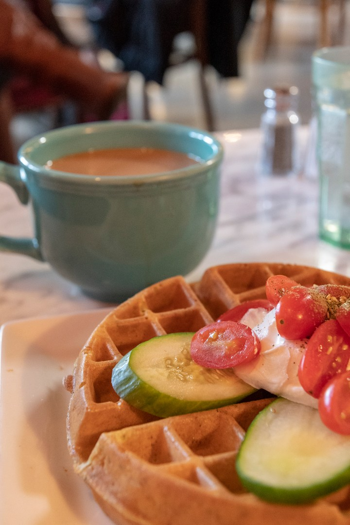 Waffels at Tryst DC